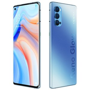 "Original Oppo Reno 4 Pro 5G Mobile Phone 8GB RAM 128GB ROM Snapdragon 765G Octa Core 6.5"" Full Screen 48.0MP Face ID Fingerprint Cell Phone"