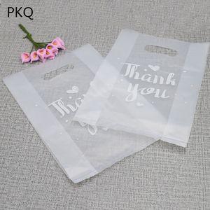 100pcs Saydam plastik torbalar, kutular için düğün iyilik perakende çanta, You plastik torbalar ederiz
