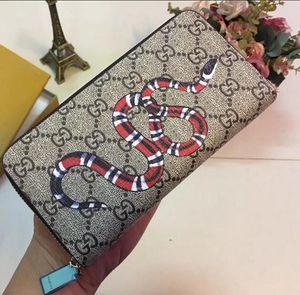 Mode Pull simple Wallet Femmes classique Fermeture à glissière sac à main pour homme simple Zippy Portefeuilles d'embrayage Porte-cartes Paquet vintage avec pas de boîte