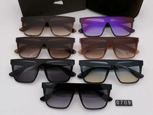 Luxary-Очки L0709 Солнцезащитные Очки Мужчины Солнцезащитные Очки Женщины Негабаритных Большой Большой Том Солнцезащитные Очки Мужской Бренд Дизайнер Пара Панк Зеркало Солнцезащитные Очки