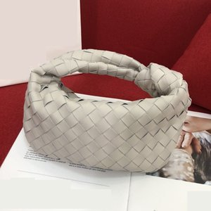 hot sale lady's plain Crochet hobos cloud bags large capacity one shoulder totes bags genuine real leather chain bags