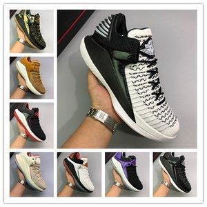 2019 Billig Verkauf Jumpman 32 XXXII Triple Schwarz Weiß Lila Männer Basketball Schuhe Für Hohe Qualität Herren Schuhe 32 s Trainer Sport Turnschuhe