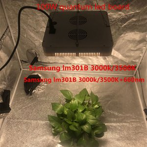 100W Samsung LM301B 3000K 3500K водить доску + 660нм квантовой для крытой теплицы гидропоники растений Lighitng полного спектра Led Grow Light