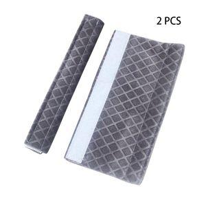 Sticker Fissare regolabile a microonde Frigorifero Porta lavabile Cucina Appliance Forno maniglia Soft Cover Lint tessuto protettivo