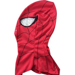 HOT! Super Cool Spiderman Mask Cosplay Hood Masks Full Head Halloween Masks For Adult and Kids Animal Costumes