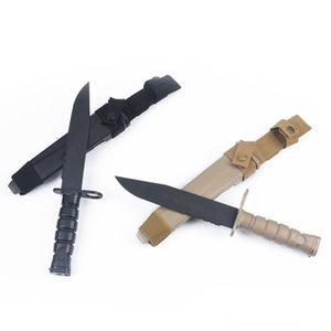 Airsoft Tactical Survival Knifes M10 Gun Lights Hunting Dummy Bayonet Plastic Knife Model US Army Dagger Tactical Training Hunting MP09003