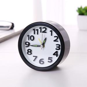حديث بسيط المنبه الاطفال ديكور غرفة نوم البلاستيك خمر ساعة الطاولة forChilder طالب البسيطة ساعات الرئيسية DCOR ساعات مكتب إنذار