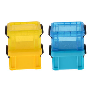 1 6 Candy Color Storage Case For 1 6 Dolls House Furniture Blue & Yellow