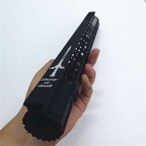 AR15은 0.223의 자유 유동 mlok 총열 덮개 (7) 10 12 15 인치 피카 티니 레일 브래킷 M4 M16 마운트