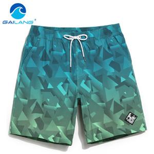 Gailang Marka erkek Plaj Kurulu Şort Bermuda Erkek Mayo Mayolar Boardshorts Hızlı Kuru Egzersiz Kargo Boxer Sandıklar Şort