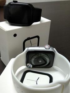 """Bluetooth llamada SmartWatch W34 los 44MM ECG monitor de ritmo cardíaco inteligente relojes masculino """"Pantalla de presión arterial 1,54 monitor de ritmo cardíaco a prueba de agua"""
