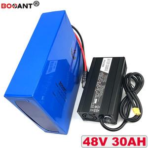 Е мото-батерия де Lítio 48 в батареи 30ah BBSHD 48 в пункт Бафане батерия де Мото получении электрическим током через тело 2000 Вт мотор 18650 каррегадор де вспомогательное оборудование + 5А Frete безвозмездно