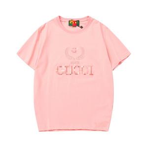 Erkek Lüks Gömlek Yaz Marka Tasarımcısı Tişörtleri Kısa Kollu Erkek Üst Tee Moda Streetwear Erkek Giyim X B100350K
