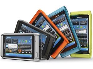 "Original de Nokia N8 teléfono móvil 3G WIFI GPS 12MP cámara de 3.5"" de pantalla táctil de 16 GB de almacenamiento Reformado Teléfono"