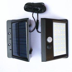 Bahçe güneş enerjisi akıllı motion sensörü duvar ışık 20 led 30 led su geçirmez enerji tasarruflu lambalar açık sokak yolu güvenlik lambası dh1185