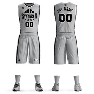 New adult basketball jersey student basketball training team uniforms men's and women's custom basketball jerseys