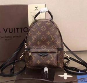 ТОП PU высокое качество PU Европа мужская сумка известные дизайнеры сумки холст рюкзак женская школьная сумка рюкзак стиль рюкзаки