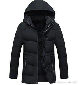 Men's clothing Winter Cotton-padded clothes Jacket Parka Warm Down Coats hoodies outdoor Overcoat designer jackets Bomber Coat