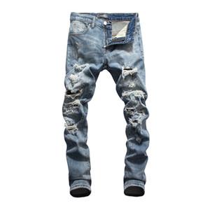mens 2020 jeans di lusso firmati Pocket progettista del mens ansima il modo Distrressed Lavato adolescenti Jeans Uomo Abbigliamento Uomo pantaloni