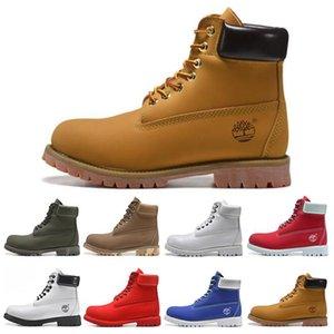 Ucuz Kış Erkekler Kadınlar Su geçirmez Açık Çizme Marka Çiftler Gerçek Deri Sıcak Kar Bot Casual Martin Boots Yürüyüş Spor Ayakkabıları Yüksek C