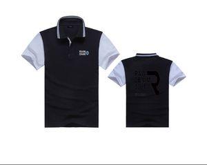 K18345 ücretsiz kargo erkek moda GR Pembe yunus Polo T-Shirt Rahat Spor Paten Yağma marcelo renk siyah bule kırmızı