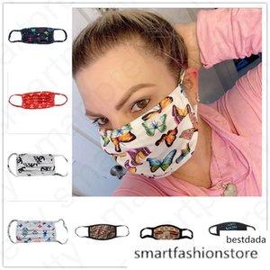 21 Styles prova ultravioleta designer rosto de luxo contra pó do respirador Equitação Ciclismo Sports reutilização Mouth máscara de cobertura para as Mulheres Homens D4806