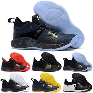 New New Arrival Paul George 2 Kids Basketball Shoes for Hig Qaulitys PG2 PS4 Playstation Black BLue Red White PG 2s Sports Sneakers