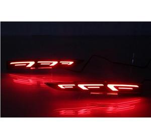 Hyundai Solaris Accent 2017 2018 Çoklu fonksiyonları Araç LED Arka Sis Lambası Tampon Işık Oto Fren Işık Reflektör