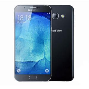 الأصلي سامسونج غالاكسي A8000 Octa Core 4G LTE 2GB RAM 16GB ROM 16M كاميرا مزدوجة بطاقة SIM غير مقفلة تم تجديد الهاتف
