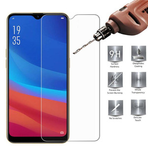 500pcs Mobile Phone Tempered Glass For OPPO A1K AX5 AX7 R9S R11S R15 R17 R19 R9 R11 Plus Screen Protector DHL Free
