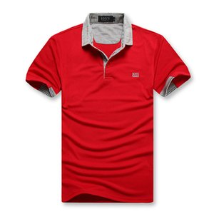 t-shirt dos homens magros verãoBOSS sob a tendência de roupas íntimas de algodão em uma única cor com mangas meia