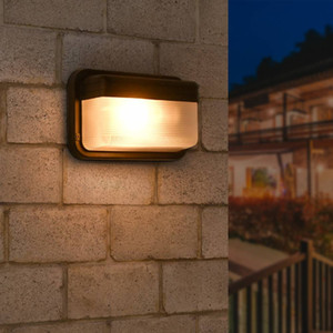 US Stock Outdoor Brass Wall Lamp for Passway Home Decor Lantern Sconce Lights Fixture Exterior Porch Lamp E26 Socket
