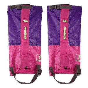 Açık Su geçirmez Bisiklet Ayakkabı Kapak Kayak Boots Kar Çorapları Yürüyüş Trekking Kayak Kol Legging gaiters Tırmanma