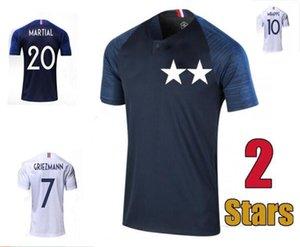 2018 2019 France MBAPPE GRIEZMANN POGBA jerseys Soccer jersey Football shirts training wear man +kids kit maillot de foot