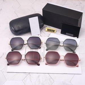 Luxury-Sunglasses -2019 новый женский модный тренд поляризованные полые поляризованные очки 9086