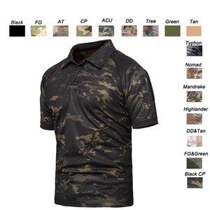 Außenwoodland-Jagd-Schießen-Hemd Schlacht Kleid Uniform Tactical BDU Armee-Kampf-Mantel Quick Dry Camouflage T-Shirt SO05-108