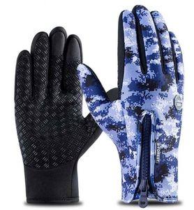 ventilateur exercice hommes preuve de froid à gants écran tactile femmes Gants de sport polaire épaissi imperméable hiver chaud équitation en extérieur formation yakuda