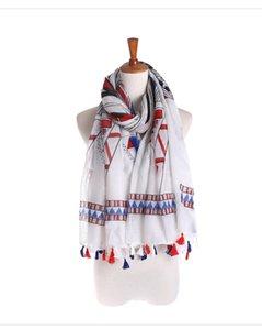 Großhandel Sonnenschutz neue hochwertiger Original-Single Quaste Baumwollschal, japanische Reise Sonne Schal, dekorativer Schal Badetuch Sarongs