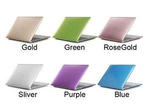 Matte Metallfarbe Laptop Hard Case für 2018 neue MacBook 13.3 Air Pro Touch Bar 15,4 Pro Retina Laptop volle Schutzhüllen