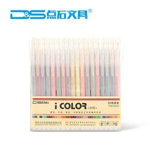 Set di penne in gel 36 colori, penna in gel glitter per libri da colorare per adulti