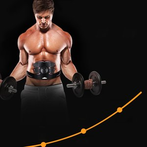 Bauchmuskeltrainer Massage Fitness Arm Aufkleber Körper-Verlust ABS Stimulator Sculpting Massage Pad Ab Roller