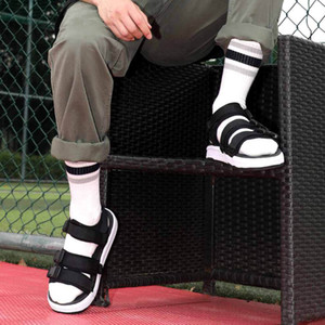 Xiaomi Men FREETIE Curved Magic Belt Sandals Non-slip Soft Foot Free Buckle Leisure Outdoor Beach comfortable Summer Shoes