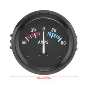 Универсальный 2-дюймовый 52 мм автомобильный Амперметр вольтметр 60-0-60 амперметр вольтметр для лодки грузовик ATV амперметр Автоматический датчик CEC_542