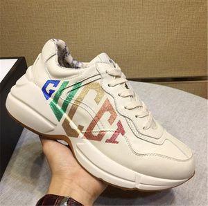 Sapatilhas da moda Verão Sapatos Dos Homens de Treinamento Profissional Moda Herren Sportschuhe Chaussures de esporte para hommes Tênis de Couro Rhyton