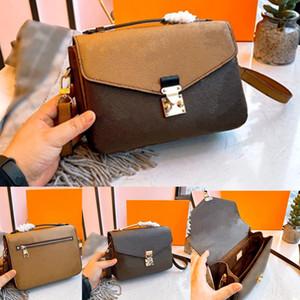 Sıcak satmak% 100 Gerçek deri çanta klasik 25cm haberci çantası kadın hakiki deri çanta lüks tasarım ikonik çanta omuz çantaları bayan rahat