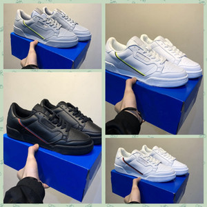 adidas Originals Continental 80 Calabasas Powerphase Grey Continental 80 Chaussures de sport Kanye West Aero bleu Core noir OG blanc Hommes femmes Trainer Sports Sneakers