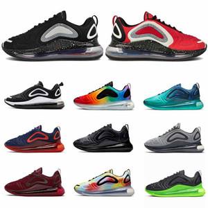Nike Air Max 720 Undercover Noir Rouge Mode Marque Femmes Chaussures de sport en cours pour les hommes Formateurs TOTAL ECLIPSE Triple Blanc Be True Designer Shoes Taille 36-45