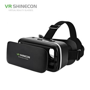 VR SHINECON G04 Virtual Reality Headset 3D VR Brille für 4,7-6,0 Zoll Android iOS Smart Phones