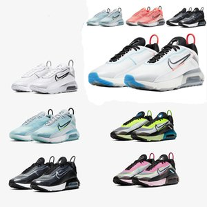 New Mens 2090 Maxes Running Shoes Womens B30 2090s bred triple black white pink oreo max sports sneakers trainers Size 36-45