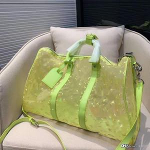 Designer progetta di alta qualità, borse da viaggio trasparenti classici atmosferici uomini di grande capacità e borsette generali delle donne singolo sho